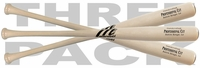 Marucci Whitewash Professional Cut Maple Wood Baseball Bat 3-pack