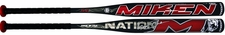Miken M Nation Geno Buck Supermax ASA Slow Pitch Bat MNATMA 2014