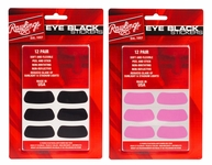 Rawlings Eye Black Stickers -- 12 pair