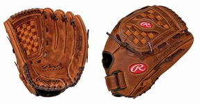 Rawlings Player Preferred 12.5 inch Baseball or Softball Glove P125BF