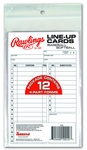 Rawlings System 17 Line Up Cards 17LU