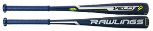 Rawlings Velo Alloy Big Barrel Bat SLVR10 -10oz (2016)