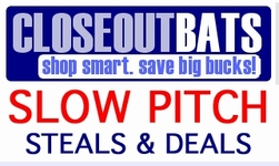 Slow Pitch Softball Bats -- Closeouts