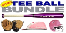 Tee-Ball Softball Bundle Ages 4-6