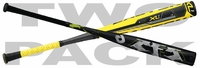 "TWO-PACK: DeMarini CF5 Youth Baseball Bat -11oz ""Limited Edition"" and Easton XL1 Youth Baseball Bat YB13X1 -10 oz 2013"