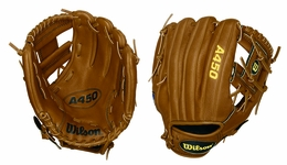 Wilson 10.75 in. A450 Youth Baseball Glove WTA0450BBDP15