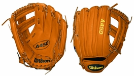Wilson 11.5 in. A450 Youth Baseball Glove WTA0450BBEL3