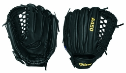 Wilson A450 Infield/Outfield Glove 12in WTA0450BBJH32