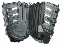 Wilson A360 Series Slowpitch Softball Glove 15in WTA03RS15BMFG