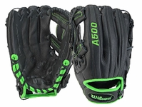 Wilson A500 Game Soft Youth Baseball Glove 11.5in WTA05RB15SA115G