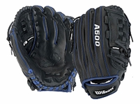 Wilson A500 Game Soft Youth Baseball Glove 11in WTA05RB15SA11BR