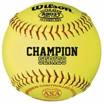 Wilson A9031 12 inch Fast Pitch Softball - 1 dz