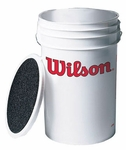 Wilson Ball Bucket with Seat