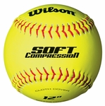 "Wilson Soft Compression Sponge 12"" Practice Softball WTA9116BT0 1 dz"