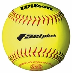 "Wilson WTA9106BASA-LOW 12"" Fastpitch Softball - 1 dozen"