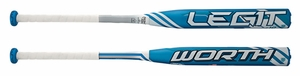 Worth Legit Fastpitch Bat -10oz FPLG10 Lightly Used W/Warranty