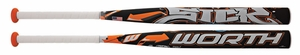 Worth SICK 454 Fastpitch Bat -10oz FPSICK Lightly Used W/Warranty