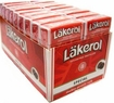 "24 Boxes Menthol-Licorice ""Special"" Lakerol"