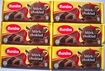 6-Pack DARK Chocolate LARGE 200g Size Bars Marabou