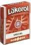 "Menthol-licorice ""Special""  Lakerol"