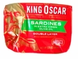 Sardines Extra Virgin Olive Oil King Oscar