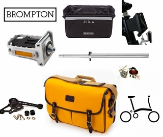 Accessories for Brompton folding bikes