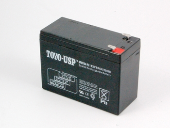 Battery: 12V 10Ah SLA