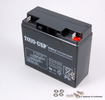 Battery: 12V / 18ah / 20hr SLA