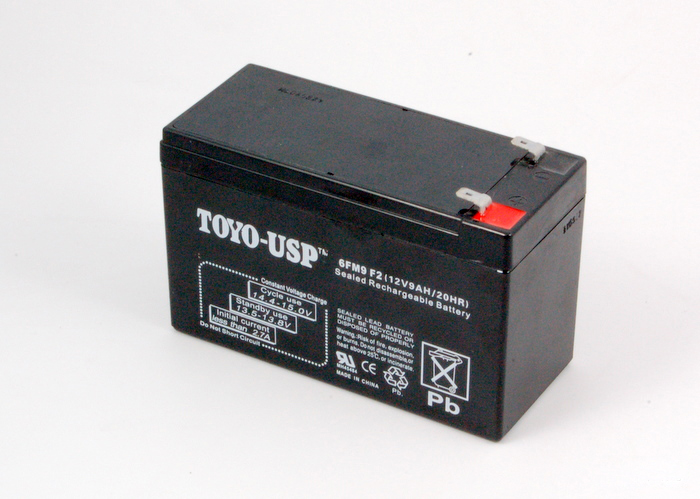 Battery: 12V 8.5Ah SLA