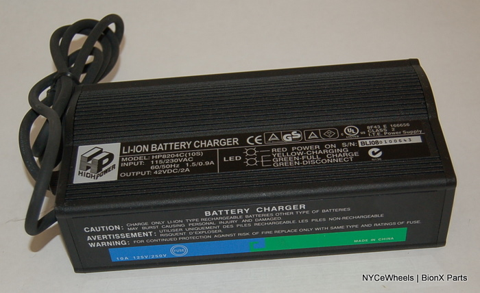 BionX Battery Chargers