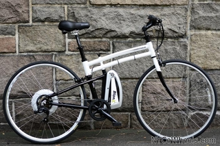 BionX Bike Review - Zoom, past a road biker!