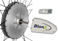 BionX electric bike motors and electric bicycles