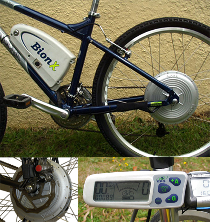 BionX P250 economy electric motor powered bike system
