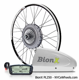 BionX PL250, Lightweight Electric Bike Kit