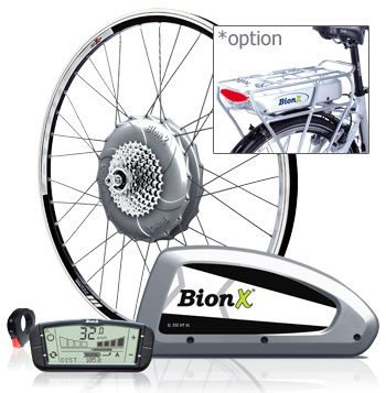BionX SL350 48V, Premium Electric Bike Motor Kit