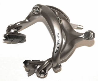 Brake caliper Front dual pivot, Part# QBRCALDPF