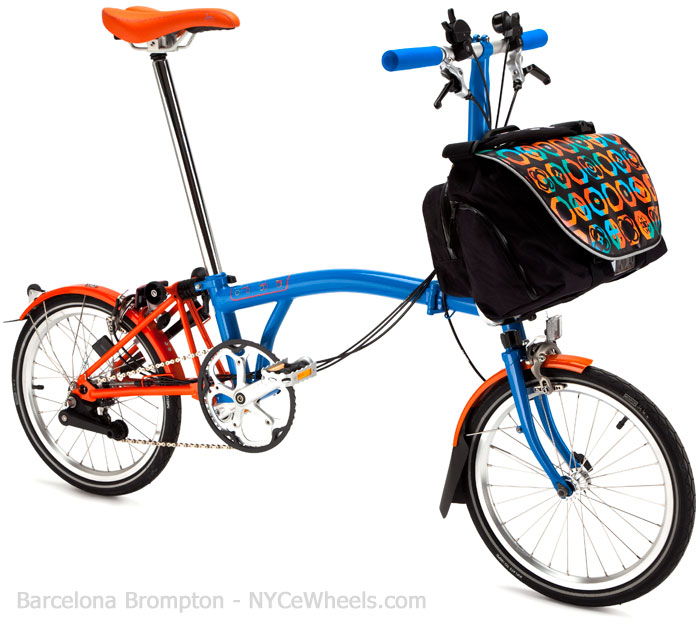 Brompton Barcelona S6l With S Bag Limited Edition Best