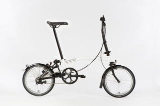 Brompton Black Edition - White  S6L