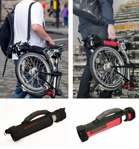 Brompton Carry Handle by Off Yer Bike