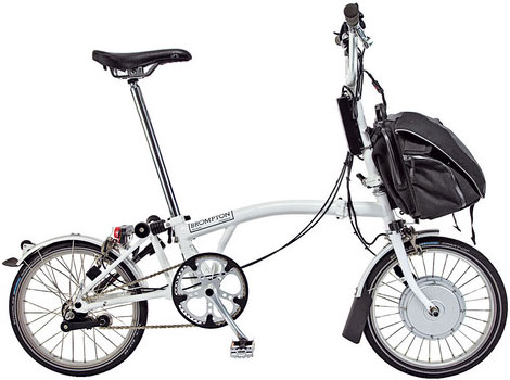 Brompton electric bike by NYCeWheels