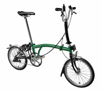 Brompton Racing Green/Black M3L