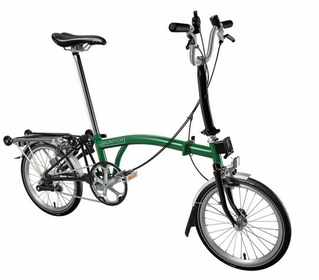 Brompton Racing Green/Black M3R 2017