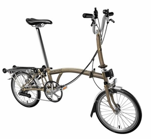 Brompton Raw Lacquer M6R