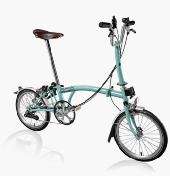 Brompton Turkish Green M6L