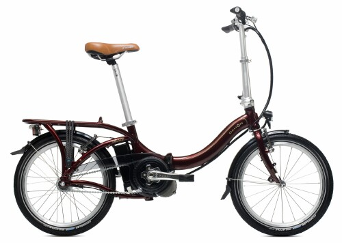 Dahon Boost electric folding bike