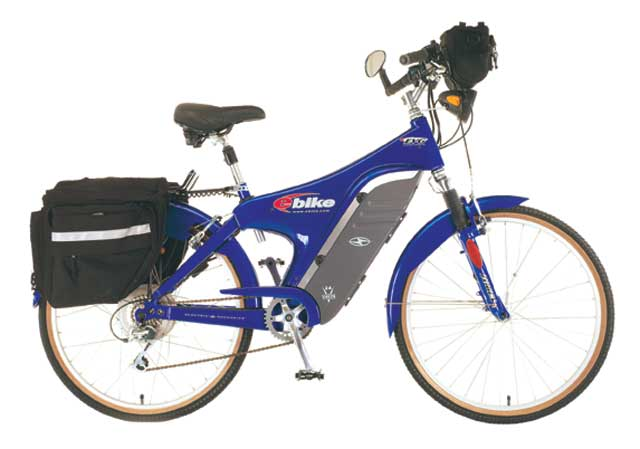e Bike 24 Volt Touring electric bicycle