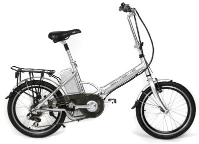 EcoBike Vatavio, electric folding bicycle