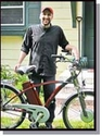 Electric bicyclist forges path to lower energy lifestyle