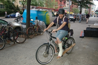 Electric Bike in New York City