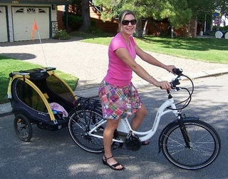 Electric Bikes and Bike Trailers